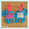 Customized 3D rubber bag tag/ pvc airplane lug gage tag