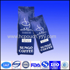 stand up ziplock coffee plastic bags