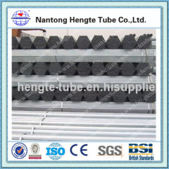 steel tube Hot dip Galvanized Steel Pipe