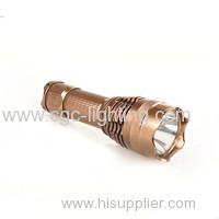 Professional supplier high quality portable aluminium Rechargeable CREE LED Flashlight Y14