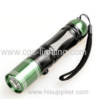 Professional supplier factory price mini pocket torch aluminium Rechargeable CREE LED Flashligh