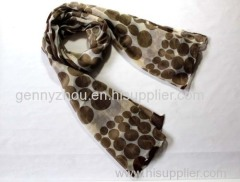 100% viscose scarf printing scarf