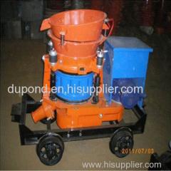 coal mining gunite machine
