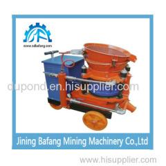 PZ-7 gunite machine for coal mining