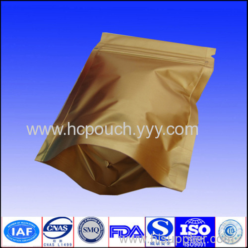 foil stand up pouch for tea