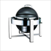 chafing dish with roll top lid