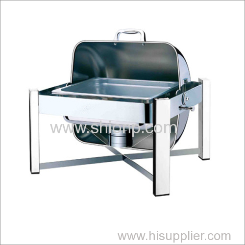 Oblong small chafing dish