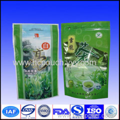 plastic stand up zipper food bag
