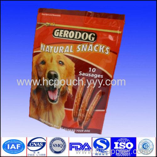 dog food stand up bag