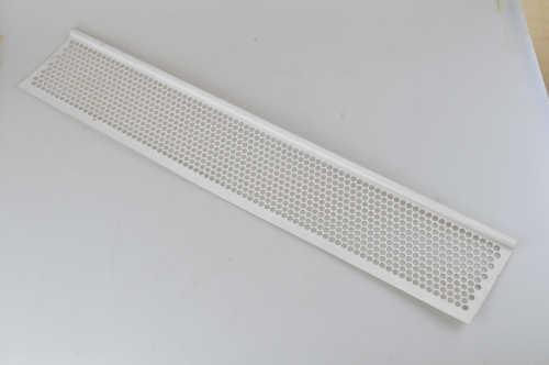 Plastic Gutter Screen_ White