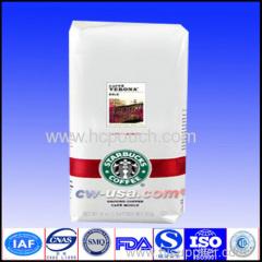 aluminum coffee food bag