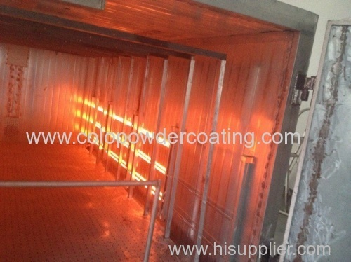 Infrared electric powder Heating Oven