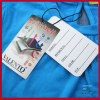high quality garment paper hang tag