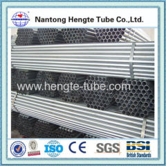 galvanized welded steel pipe steel tube