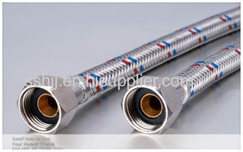 Hot water braided hose