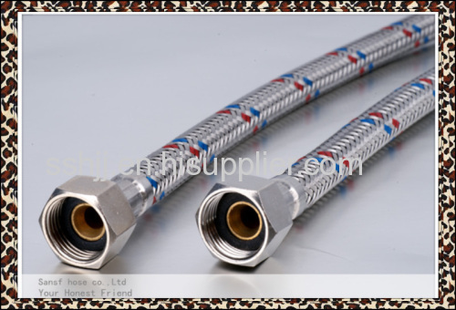 Stainless steel flexible drain rubber hose