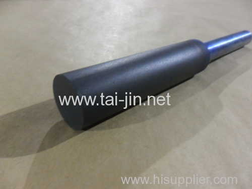 MMO coated rod anode with a mixed metal oxide coating