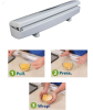 Wraptastic Preservative Film Cutter/Click&Cut Foil Food Wrap Dispenser