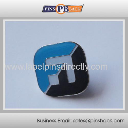 Custom Die struck soft enamel lapel pin
