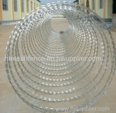 hot-dipped galvanized razor barbed wire anping direct manufacturer