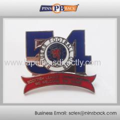 Metal enamel lapel pin