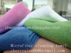 100% microfiber cleaning towel/cloth