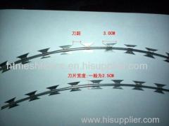 BTO-22 razor blade wire razor barbed wire fence