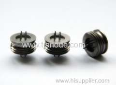 end connector hermetically seal glass metal
