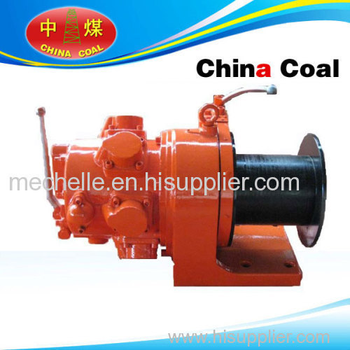 air winch with steel rope