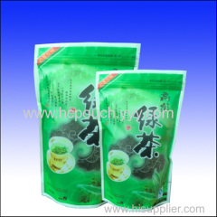 food packaging standing ziplock bag