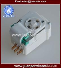 Installing inside or outside refrigerator defrost timer