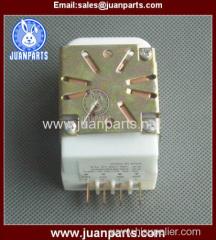 Refrigerator energy saving defrost timer