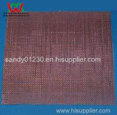 20 mesh Copper Woven Wire Mesh, 0.41mm Wire Dia