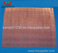 #30 Copper Woven Wire Mesh Screen, 0.30mm Wire Dia