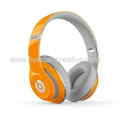 Beats by Dre Studio Limited Edition 2nd Generation Orange On Ear Headphones