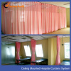 Hospital curtain fabric screen with mesh