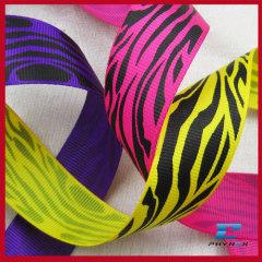 soft printed moire ribbon