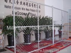 mobile chain wire fencing panels temporary diamond panel fencing removebale fencing panels