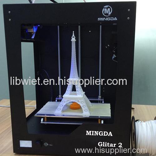 FDM 3D Printer Mingda Glitar 2 High Precision Dual Core High Speed Model Toy Digital Printer