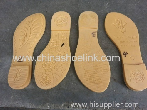 Printing bottom of rubber outsole
