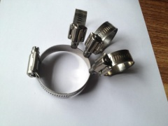 Hi perforated type hose clamps