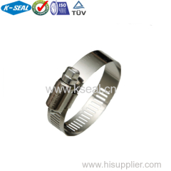 SAE J1508 stainless steel hose clamp