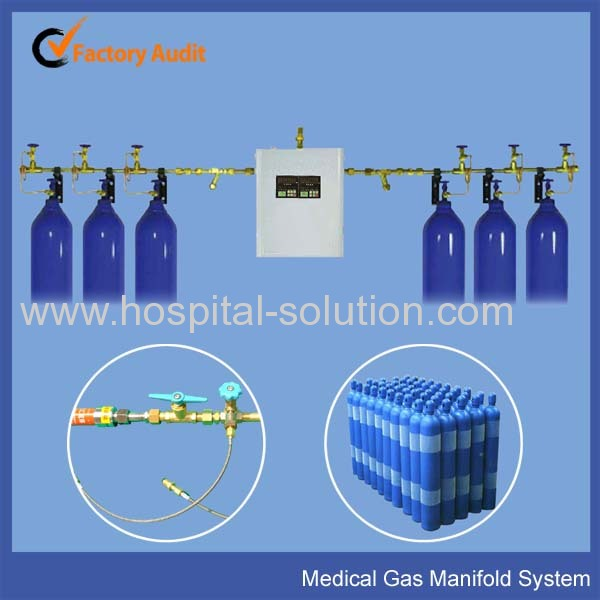 Hospital Gas Manifold System For Oxygen Manufacturer From