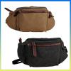 Hot selling fashionblue belt bag canvas sports waist bag