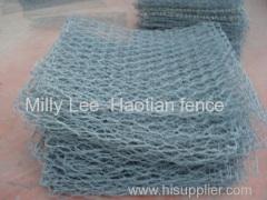 muratura blocco parete gabbione gabbie pietra gabbione materasso gabion maglia roccia cestello / gabbione gabbia pietra per Banca del fiume
