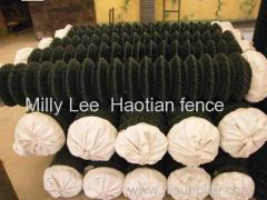 Used Chain Link Fence direct factory Diamond Mesh Safty Fencing panels modular high quality chain wire fencing