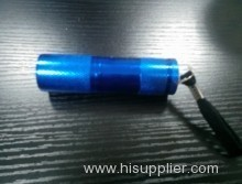 9 Mini LED Flashlight LED with reflector