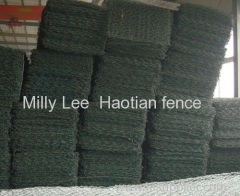 galfan gabion walkways high tensile reno-mattress high quality green terramesh