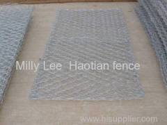 gabion box retaining wall water conservancy galfan Bank stabilization gabion wall mattress