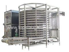 Refrigeration Equipment Single Spiral Freezer 5000kg Per Hour